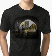 Kermit the Hutt Tri-blend T-Shirt
