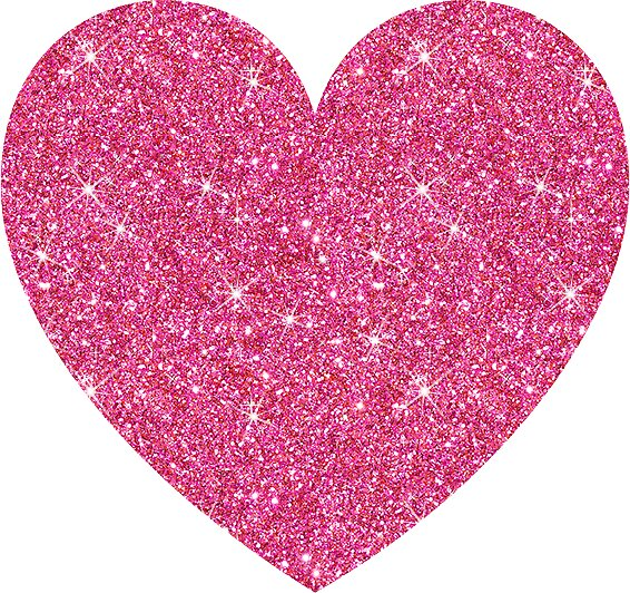 Image Of Glitter Heart
