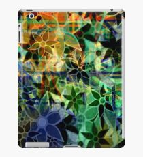 Abstract Art Retro Trendy Floral Pattern iPad Case/Skin