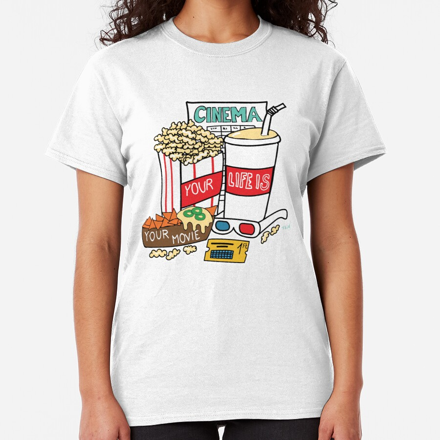 Your life is your movie Classic T-Shirt