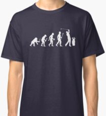 Funny Evolution Of Golf Classic T-Shirt