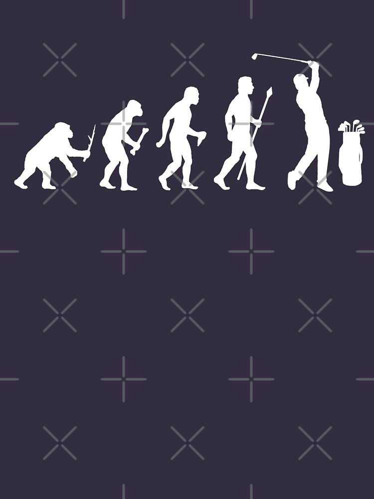 Funny Evolution Of Golf by BeyondEvolved