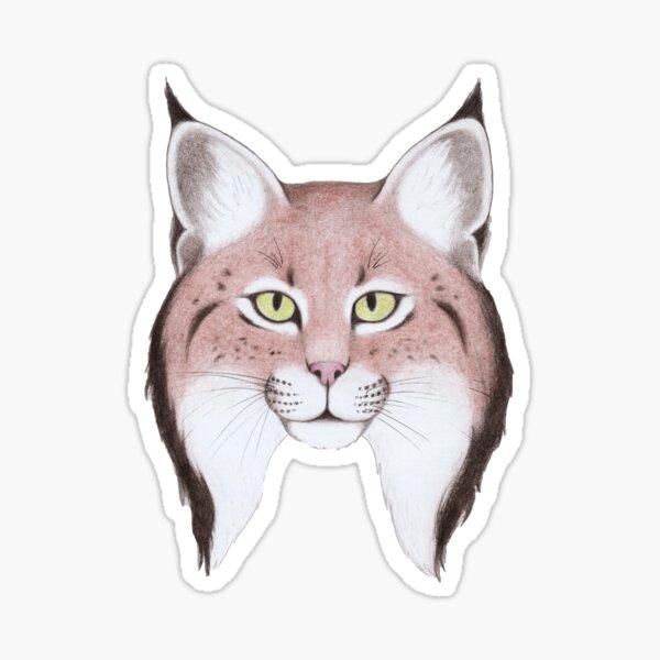 Iberian Lynx (Lynx pardinus) Sticker