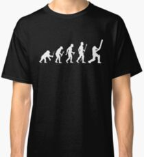 Cricket Evolution Of Man  Classic T-Shirt