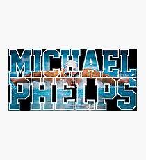 michael phelps Photographic Print