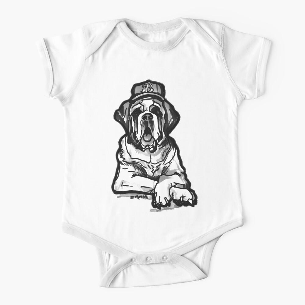 Saint Bernard Swag Baby One-Piece