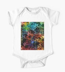 Abstract Art Retro Trendy Floral Pattern Kids Clothes