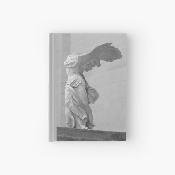 Winged Victory of Samothrace Hardcover Journal