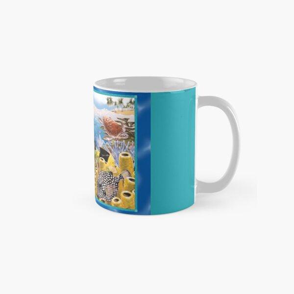 Under-water scene, Tobago. Classic Mug