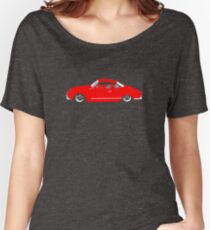 Red Karmann Ghia Women's Relaxed Fit T-Shirt