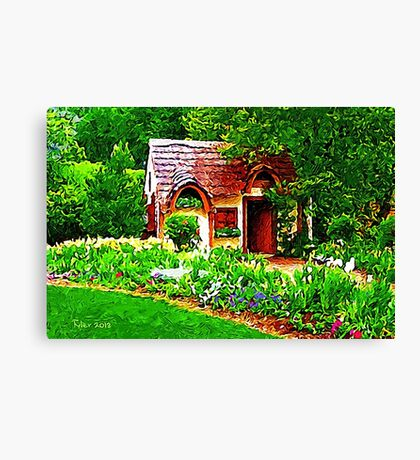 COUNTRY COTTAGE 40D Canvas Print