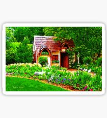 COUNTRY COTTAGE 40D Sticker