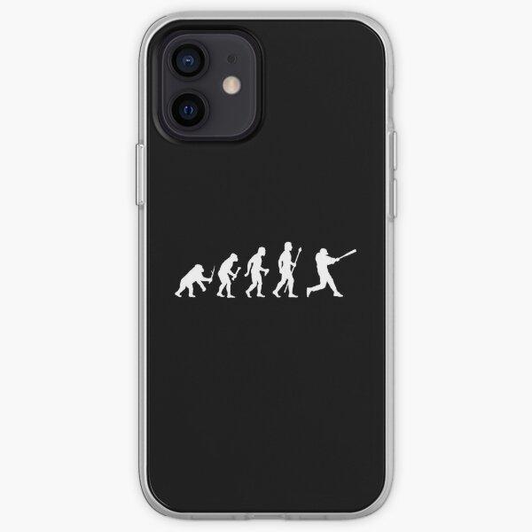 Baseball Evolution Funny T Shirt iPhone Soft Case