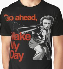 Dirty Harry - Go ahead, make my day! Graphic T-Shirt