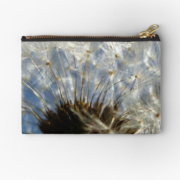 Blue Skies and Dandelions Zipper Pouch
