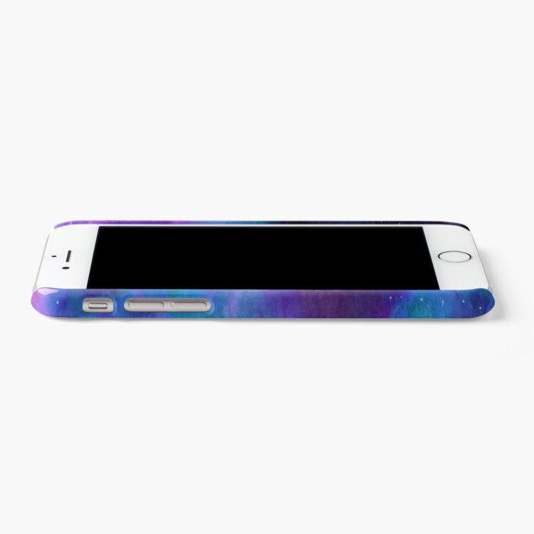 Alternate view of Neon Galaxy Dreams iPhone Case & Cover