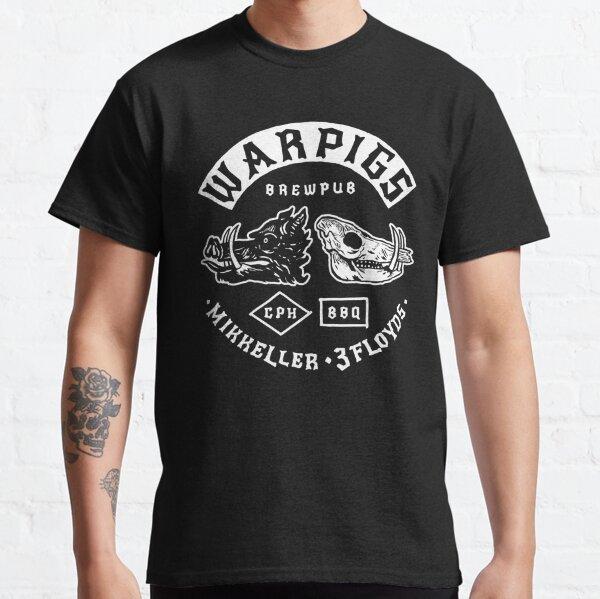 Official Warpigs Brewery BrewPub War pigs  Classic T-Shirt