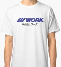 Work Wheels - JDM Classic T-Shirt