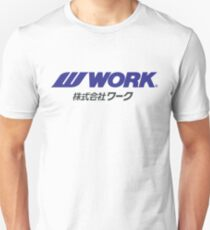 Work Wheels - JDM Unisex T-Shirt