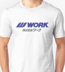 Camiseta unisex Ruedas de trabajo - JDM