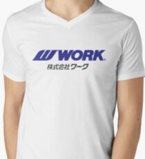Work Wheels - JDM Men's V-Neck T-Shirt