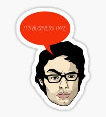 It's business time. Sticker