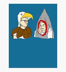 Eagle vs. Shark Photographic Print