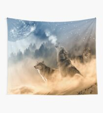 Moonrise Howl Wall Tapestry