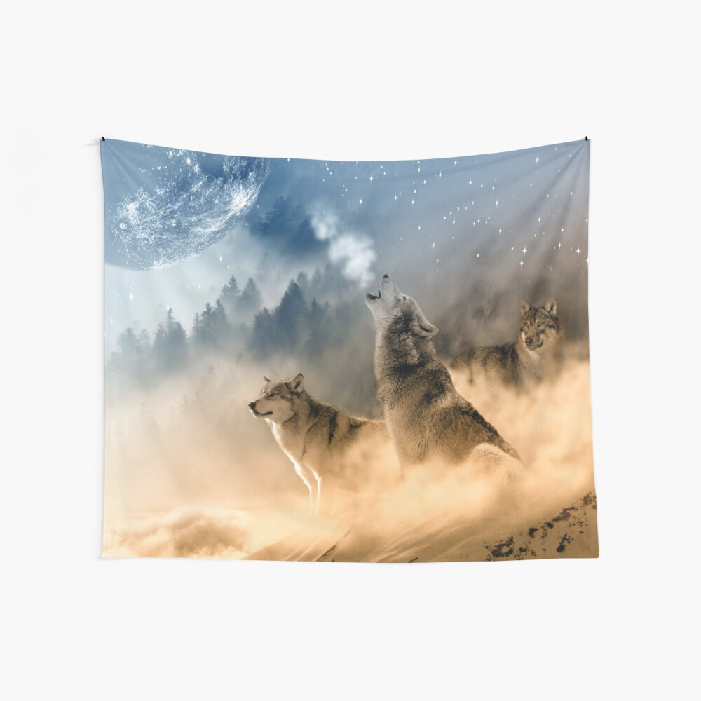 Moonrise Howl Tela decorativa