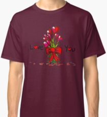 Love You Flowers Classic T-Shirt