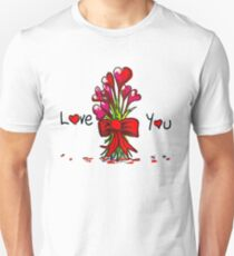 Love You Flowers T-Shirt