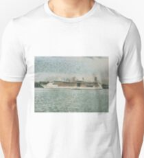 Cruise ship at rest T-Shirt