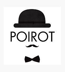 Poirot Photographic Print