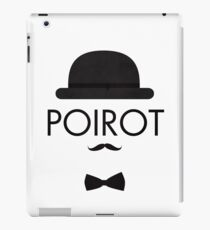 Poirot iPad Case/Skin