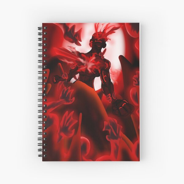 The Depth of Hell Spiral Notebook