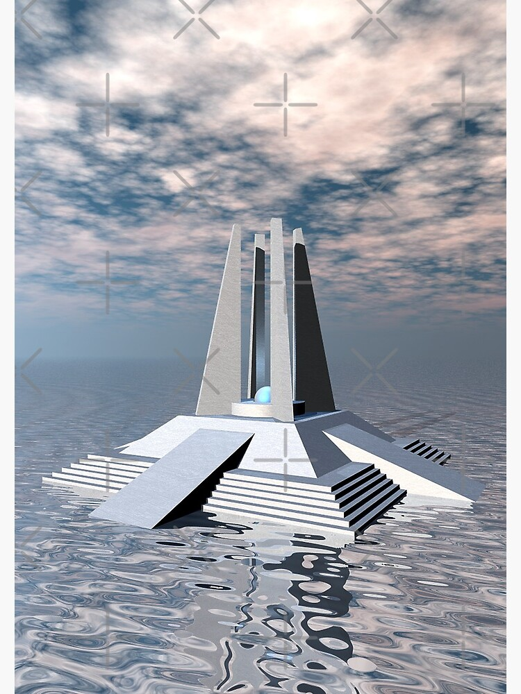 Structural Tower of Atlantis by perkinsdesigns