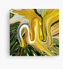 Allah abstract painting  Canvas Print