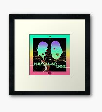 Mulholland Drive Framed Print