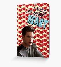 Season 5 Teen Wolf Greeting Cards [Theo] Greeting Card
