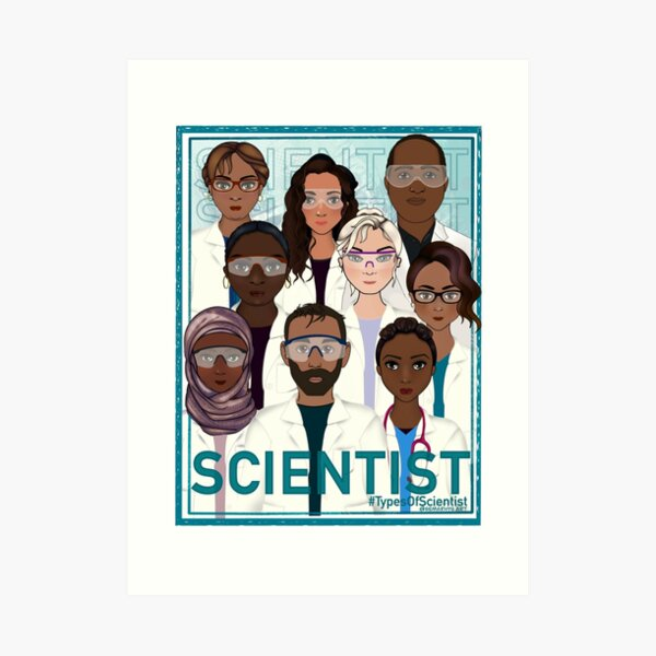 We are Scientists Art Print