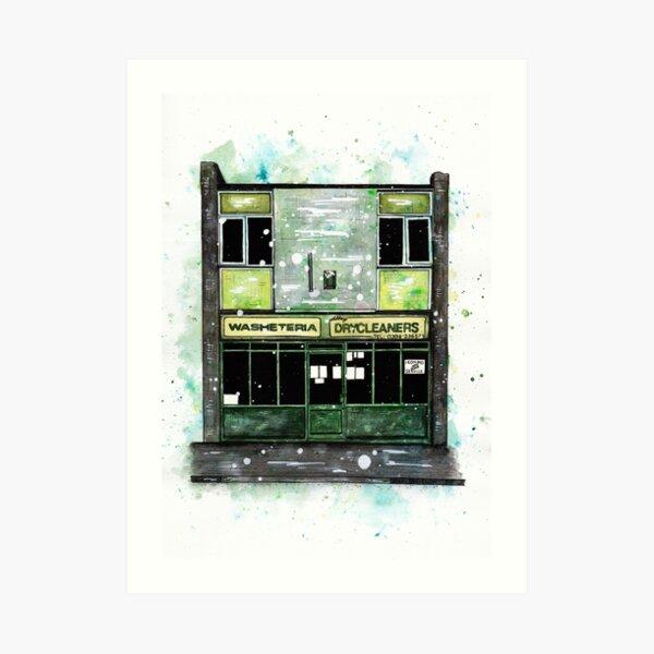Launderette No.2 Art Print