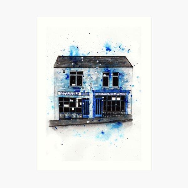 Launderette No.3 Art Print