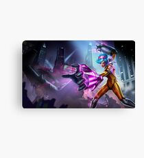 LoL - Neon Strike VI Splash Art Canvas Print