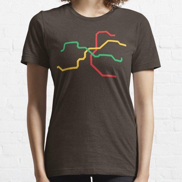 Prague Metro Essential T-Shirt