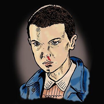 Eleven (Millie Bobby-Brown) - Stranger Things by Matty723