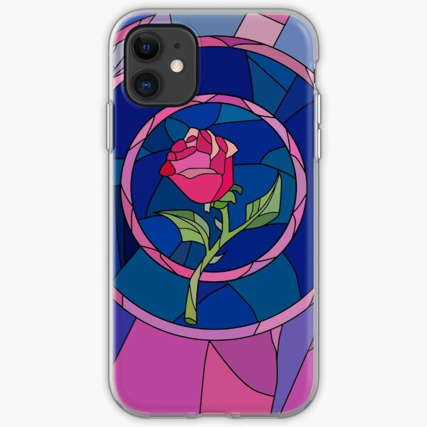 Glass Rose iPhone Soft Case