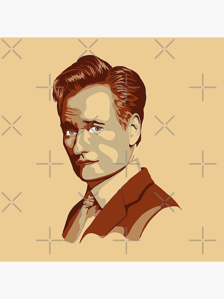 Conan O'Brien Portrait by unhingedheather