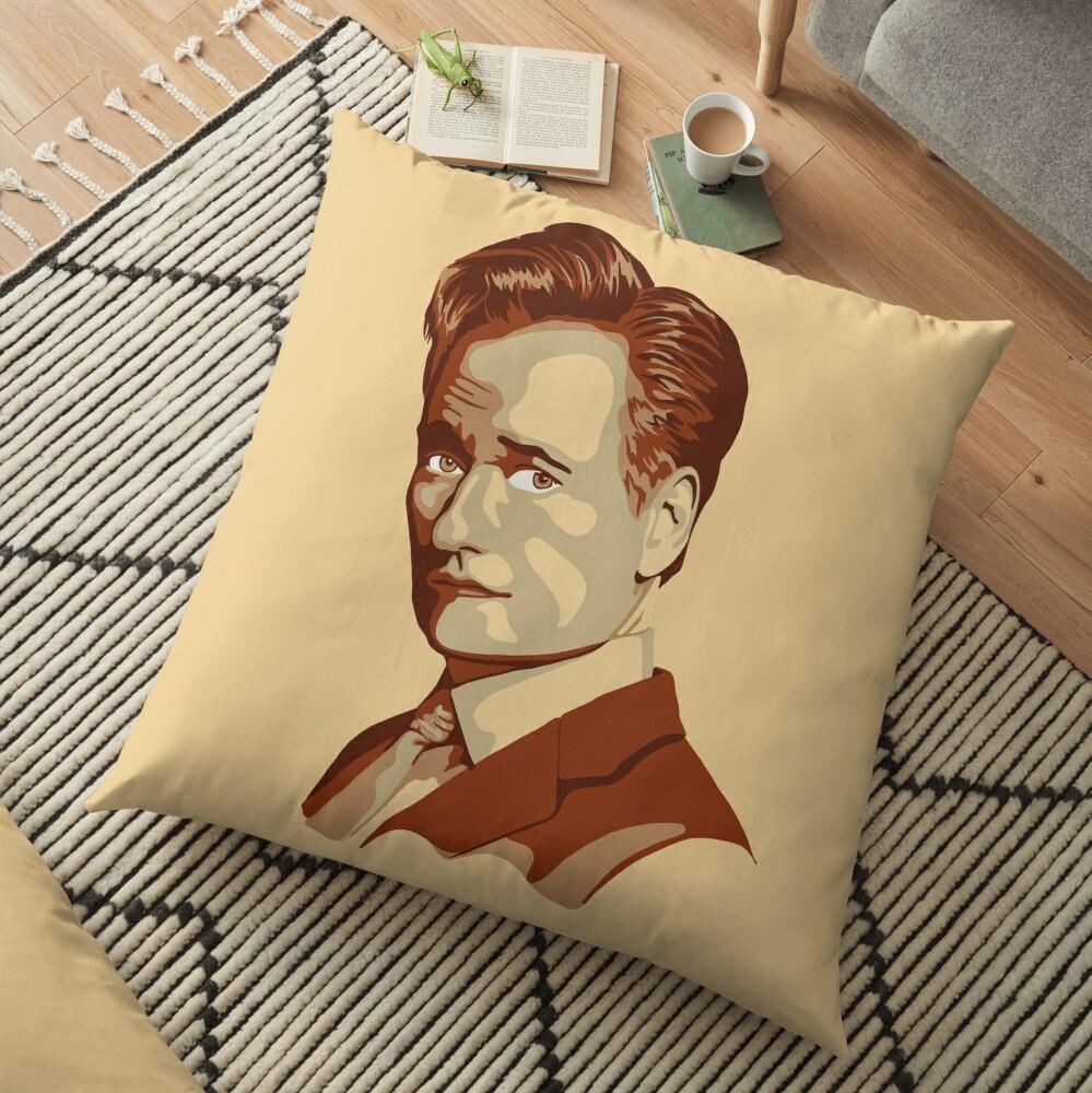 Conan O'Brien Portrait Floor Pillow