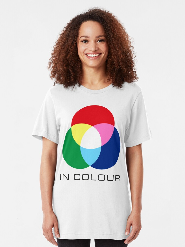 Alternate view of NDVH ATV In Colour Slim Fit T-Shirt