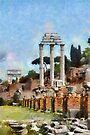 Forum Romanum, Rome, Italy by David Carton